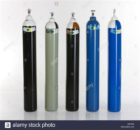 gas cylinders carbon dioxide air air stock photo 51788268 alamy