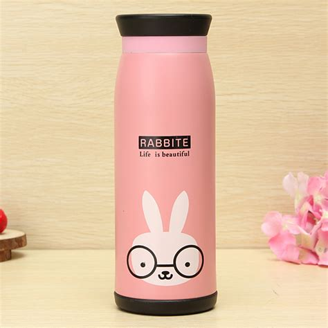 Thermos Animal Bachelor Cup Animal Thermos Vacuum Flask 500ml Deer Lazada