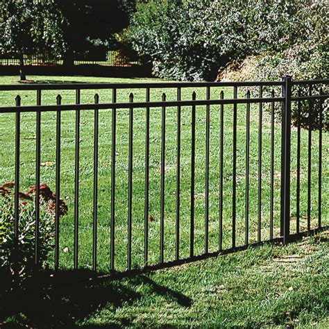 Decorative Metal Fence by Fence Materials Guide