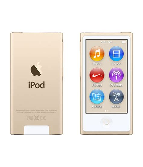 best price ipod buy apple ipod nano 16gb 2015 edition gold at