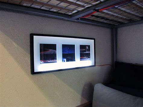 bilderrahmen beleuchtung projekt code all in one langzeit projekt