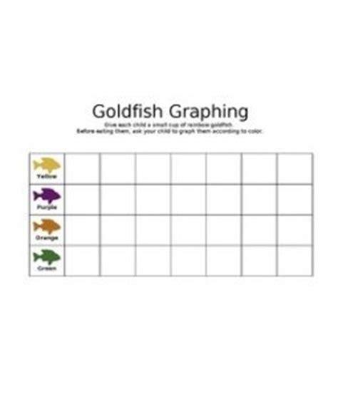 printable goldfish graph goldfish and printables on pinterest