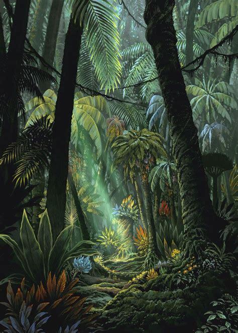 illustrator jungle tutorial etrian odyssey jungle art reference and inspiration
