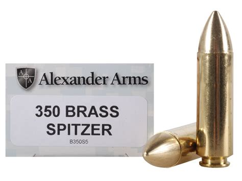 Grendel Solid arms ammo 50 beowulf 350 grain millennium solid