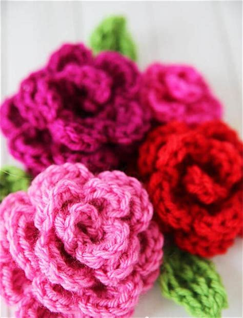 flower pattern crochet for beginners 22 easy crochet flowers for beginners diy to make