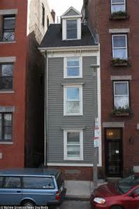 skinny house boston boston s skinniest house built out of spite and sibling rivalry after the cival war daily mail