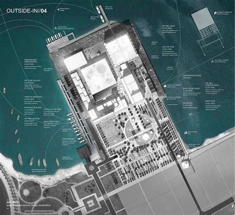 design management studio qatar doha art mill competition project proposal on behance