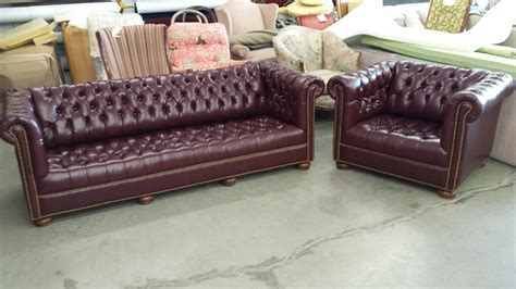 couch chair set leather couch and chair set mike hamad upholstery couch