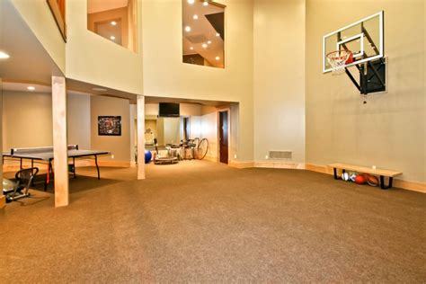 basement basketball court 19 modern indoor home basketball courts plans and designs