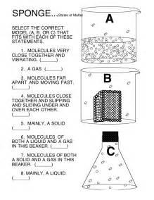 state of matter worksheet 5