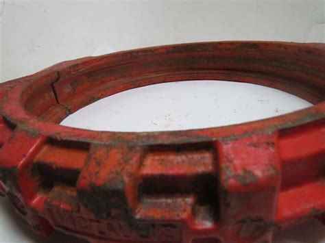 Clam Victaulic 4 Style 77 Coupling Victaulic 12 Quot Gasket Cl Rigid Coupling W Out Gasket