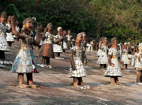 rock garden in chandigarh top 10 places to visit in punjab trans india travels