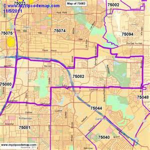 richardson zip code map zip code map of 75082 demographic profile residential