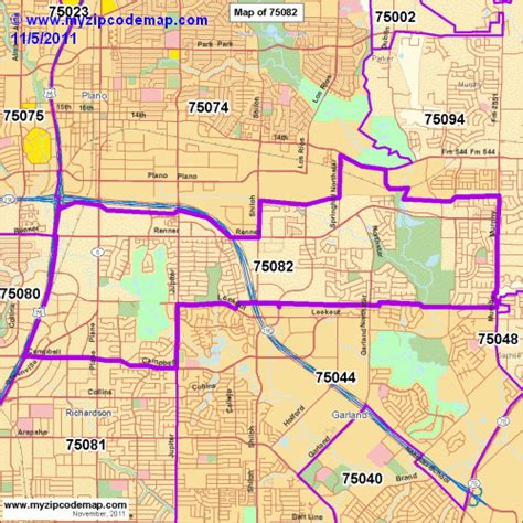 richardson texas zip code map zip code map of 75082 demographic profile residential housing information etc