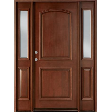 wooden main door 2 panel main solid wood door hpd113 main doors al