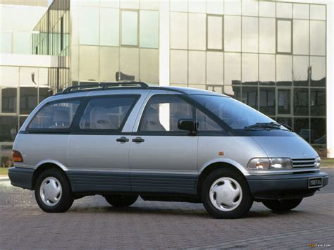toyota previa 1990 toyota previa related infomation specifications