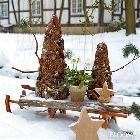 Winterdeko Balkon by 96 Besten Winterdeko Bilder Auf Weihnachten