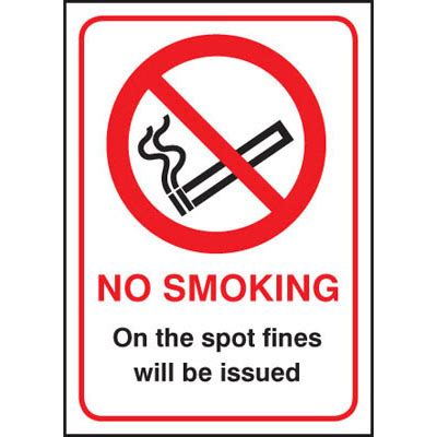no smoking sign fine no smoking fines issued signs 3027 proshield safety signs