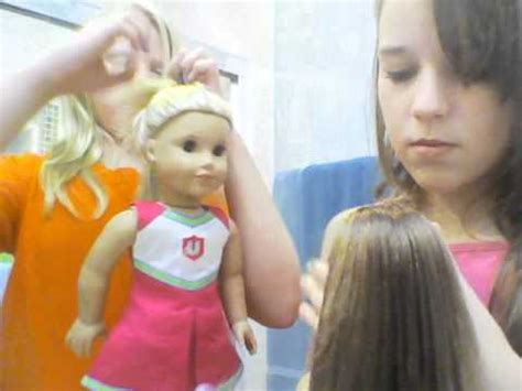 american girl hairstyles youtube american girl doll hairstyles youtube