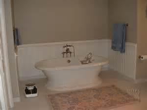 Bathroom Wainscoting Height - wainscoting amp chair rail bath beadboard