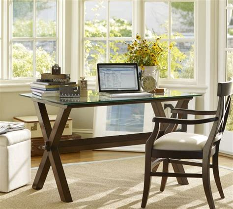 Pottery Barn Office Desk Wood Desk Espresso Stain Pottery Barn I A Sofa Table That Looks Like This That I