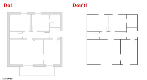 how to draw a floor plan by hand custom floor plans create plan and online on pinterest
