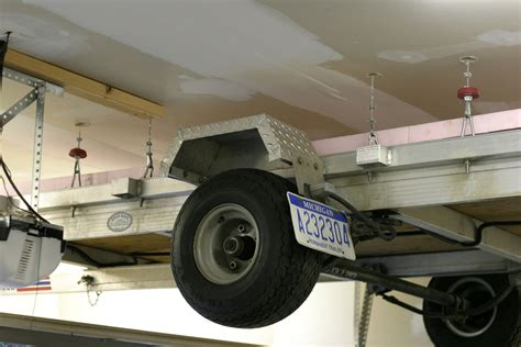 trailer garage panofish 187 garage trailer lift