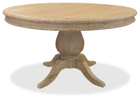 Washed Wood Dining Table Luke 60 Quot Reclaimed Wood Table White Washed Finish Farmhouse Dining Tables By Luvbutton
