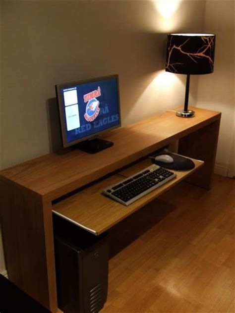 ikea malm desk hack marcus nyberg ikea hack malm computer desk