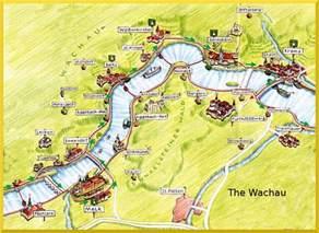 the valley map wachau valley austria map