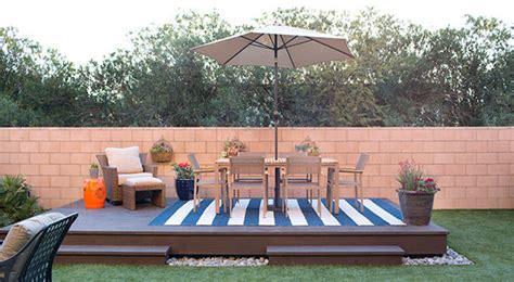 design your own deck home depot 10 floating deck plans add visual appeal to your backyard