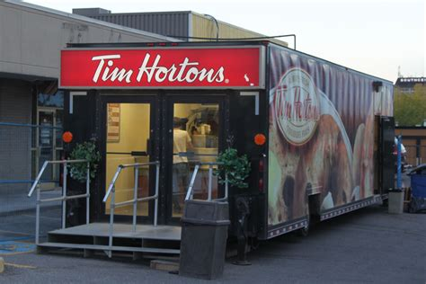 portale mobile tim another tim hortons renovation in timmins northern