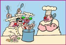 anime tentang masak juru masak koki gif gambar animasi animasi bergerak
