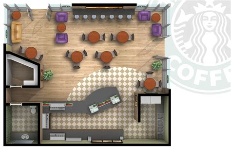 layout de planta de cafe starbucks floor plan planos pinterest starbucks