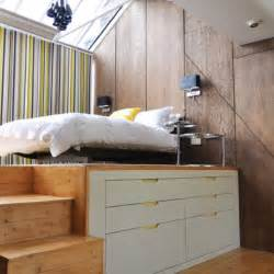 Elevated Platform Bed raised bed platform homey lovelyness pinterest
