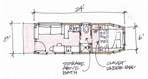 our plan clothesline tiny homes
