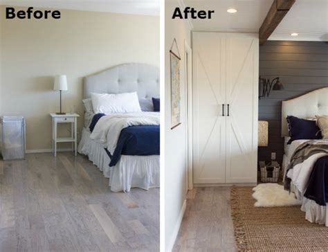 bedroom before and after before after a builder grade bedroom goes cozy yahoo