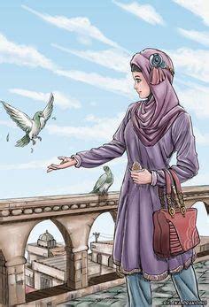 anime hijab gaul muslim manga and anime drawings drawings of muslim
