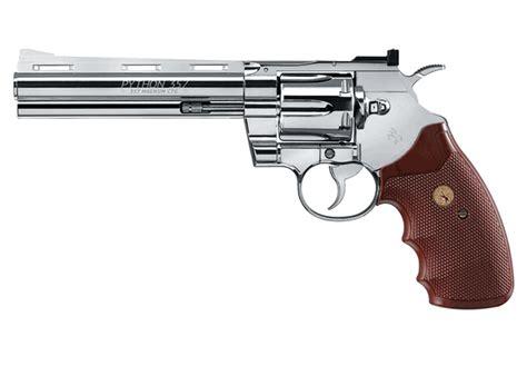 colt python revolver chrome airgun depot