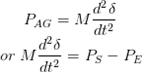 swing equation in power system transient stability in power system