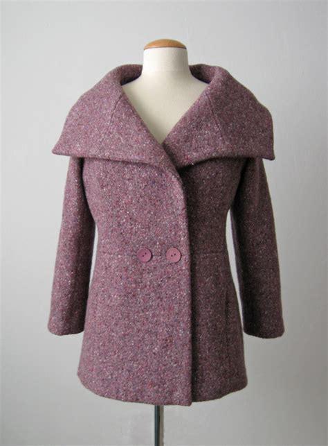 how to sew a winter coat for a dog sunnygal studio sewing burda shawl collar coat 11 2014