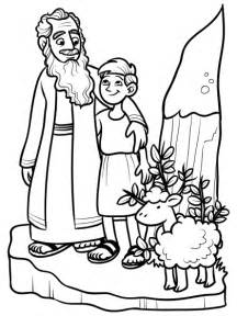 abraham and isaac coloring pages 139 education