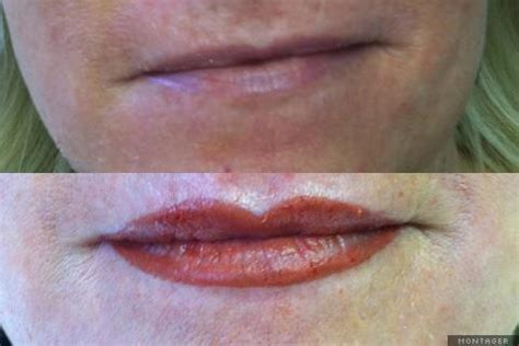 tattoo fuller lips full lip color and reshape lip tattoos give a natural
