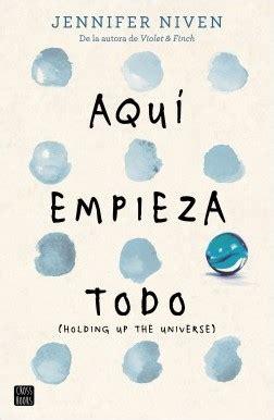 libro holding up the universe aqu 237 empieza todo planeta de libros