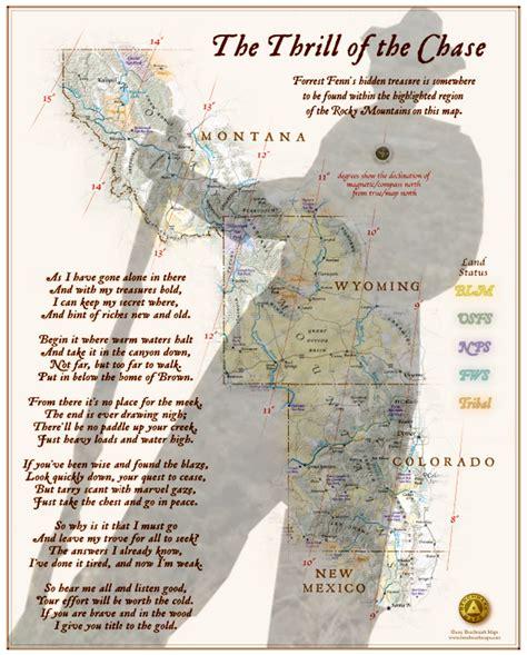 fenn treasure map fenns lost gold treasure map steemit