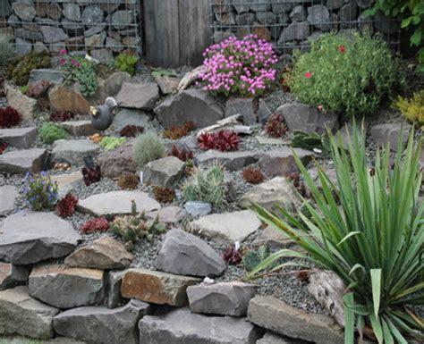 gartengestaltung steingarten steingarten anlegen hang gartengestaltung natrlich
