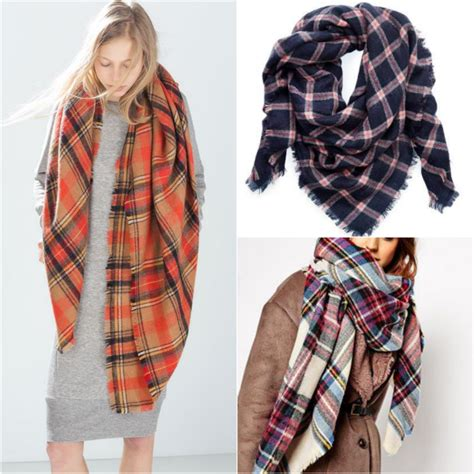 8 Of The Best Scarves by Currently Crushing The Ultimate Blanket Scarf Up