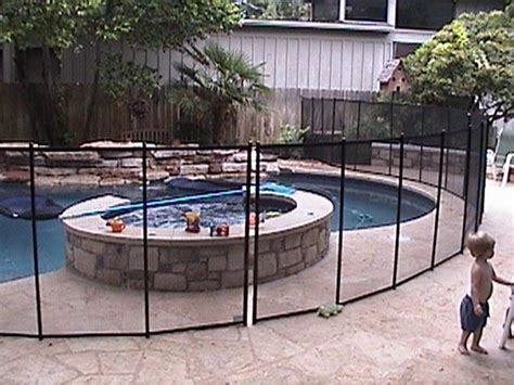 removable pool fence removable pool fence for a rental home delightful outdoor ideas