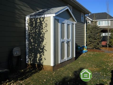 installed garden sheds 4 x 8 shed solutions