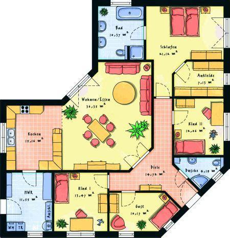 1 Schlafzimmer Haus Plan by Die 25 Besten Ideen Zu Haus Grundrisse Auf